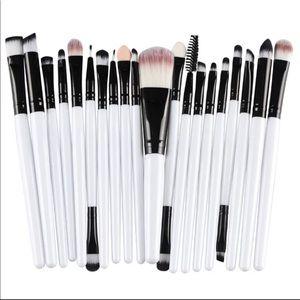 Makeup Brush Set 20PCS White